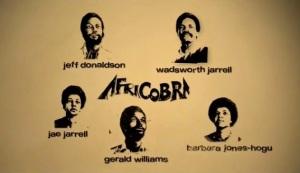 AFRICOBRA's founding members