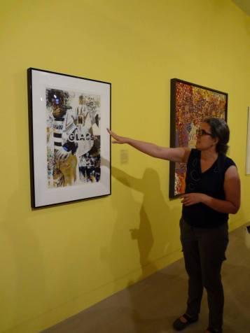 NTS Seminar visits AfriCOBRA exhibition at Logan Exhibitions