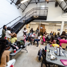 Hair Braiding Summit organized by Liliana Angulo Cortes
