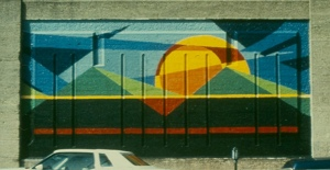 Arlene Turner-Crawford, One of Six CETA Murals in Indianapolis, 1979