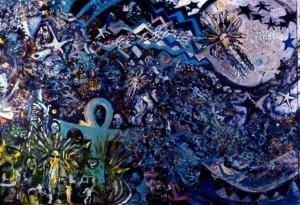 Arlene Turner-Crawford, Earth, Ether, Light, mixed media, 2000