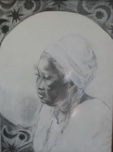 Arlene Turner-Crawford, Untitled, dry media, 2009.