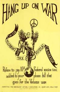 "Karl Meyer's 1966 ""Hang Up On War"" pamphlet."