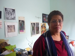 Arlene Turner-Crawford at home