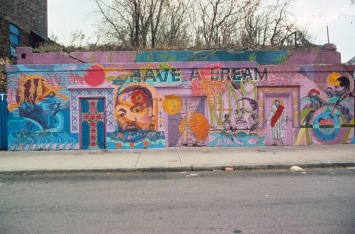 Siddha Webber, Have a Dream. Mural at 39th Street and and Martin Luther King, Jr. Drive.